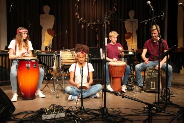 Schlagwerk Percussionensemble Foto Markus Lindner