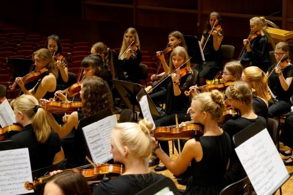 Streichorchester Foto Reinhard Winkler