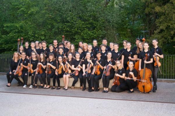 Streichorchester Landesmusikschule Wels Foto