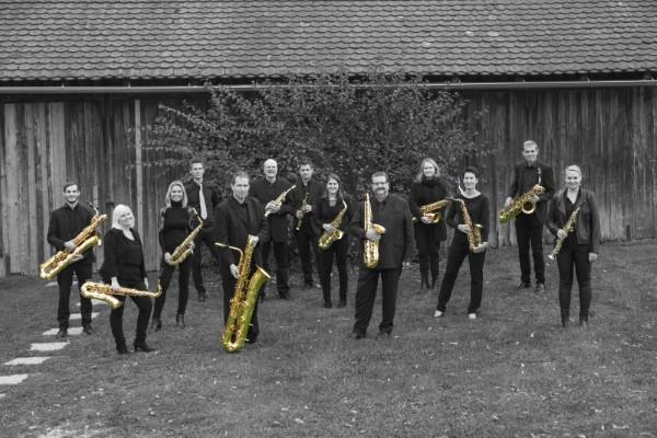 Gruppenfoto SAX 12 Ensemble